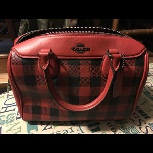 Coach mini satchel